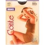 Колготы Conte Nuance женские 40den mocca 2 размер
