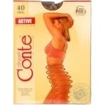 Tights Conte bronze polyamide for women 40den 5size
