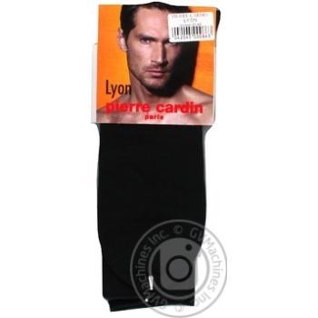 Шкарпетки Pierre Cardin Lyon чоловічі чорні р43/44 - купити, ціни на МегаМаркет - фото 1
