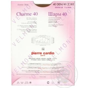 Колготи жіночі Pirre Cardin Charme 40 visone 2 - купить, цены на Novus - фото 3