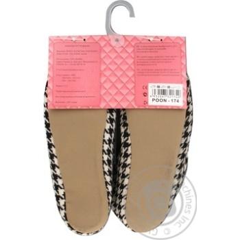 Обувь комнатная Marizel женская Poon 174 - купить, цены на Фуршет - фото 2