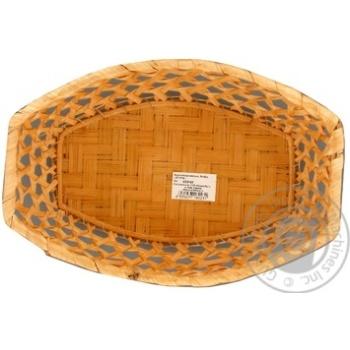 Ekorambus Fruit Bowl Oval 25х18хН5 - buy, prices for Furshet - image 1