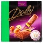 Chocolate milky Dolci with hazelnuts bars 32% 180g Ukraine
