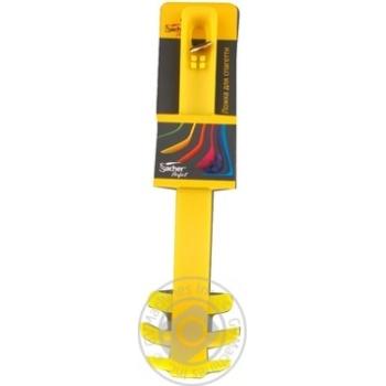 Ложка для спагетти Sacher желтая - купить, цены на Фуршет - фото 3