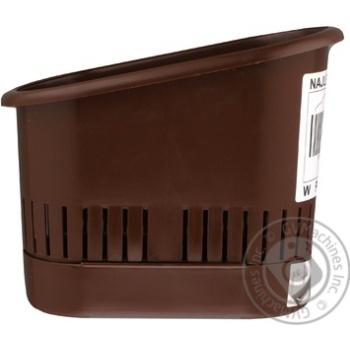 Сушилка для столового приладдя Plast Team Блакитна - купити, ціни на Novus - фото 3