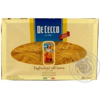 Pasta tagliolini De cecco 250g Italy