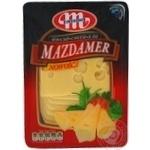 Сыр Млековита Маздамер нарезанный 45% 150г Польша