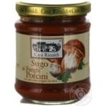 Sauce Casa rinaldi tomato mushroom 190g glass jar