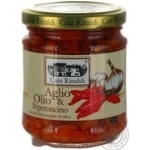 Sauce Casa rinaldi with garlic 190g glass jar