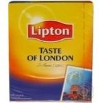 Чай Липтон Вкус Лондона черный 2г х 100шт