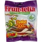 Цукерки жувальні Fruit-tella Змії XXL + Фруктовий сік 70г