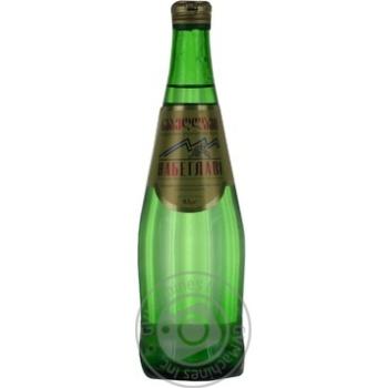 Вода Набеглави сильногазированная лечебно-столовая стекляная бутылка 500мл Грузия