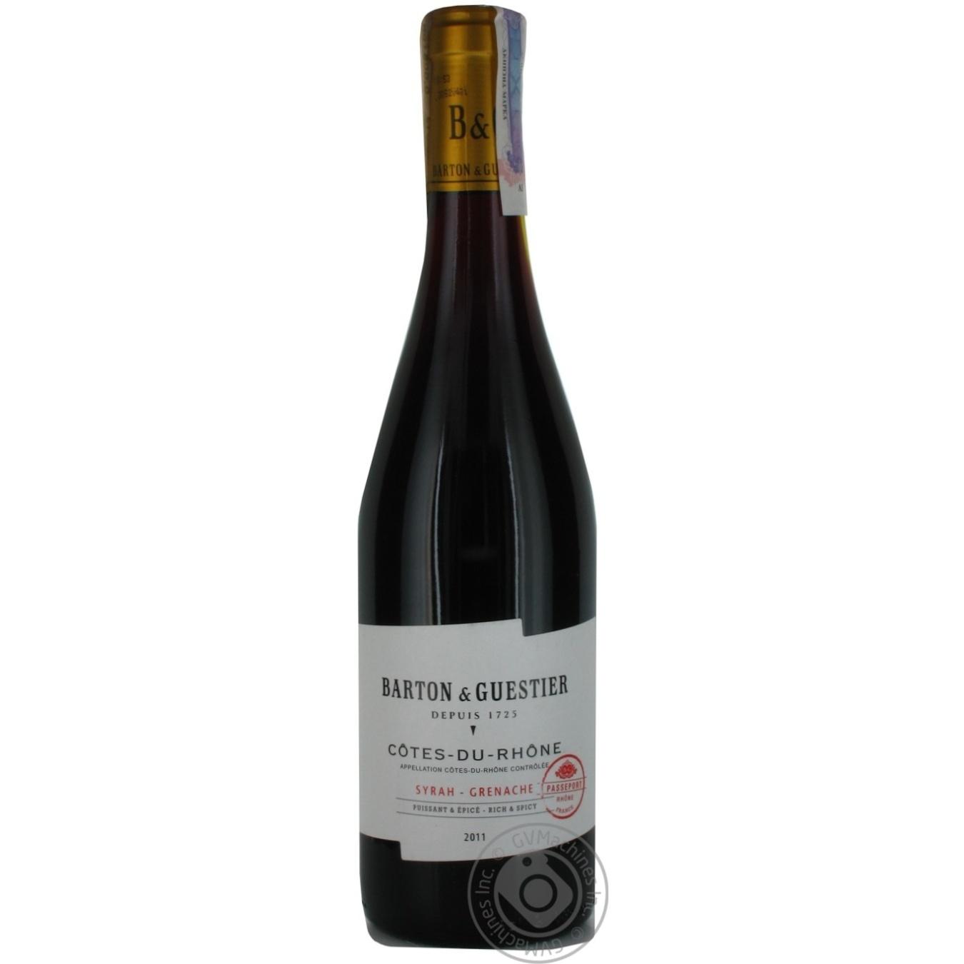 Кот дю рон вино франция