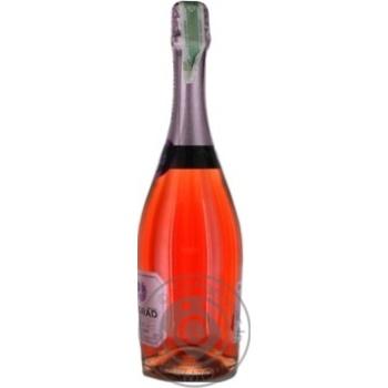 Вино игристое Bolgrad розовое полусладкое 0,75л - купить, цены на ЕКО Маркет - фото 2