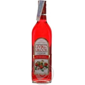 Лікер Wild Strawberry Liviko 0,5л