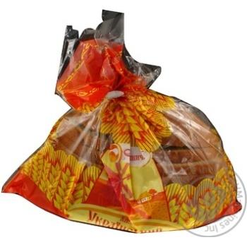 Хлеб Кулиничи Украинский новый половинка нарезка 475г