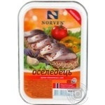 Fish herring Norven preserves 300g hermetic seal Ukraine