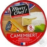 Cheese camembert Merci chef with mold 45% 240g France