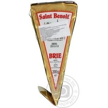 Сыр Сент Бенуа Бри 60% 200г