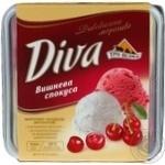 Морозиво Diva Вишнева спокуса Три Ведмеді пл.л.500г