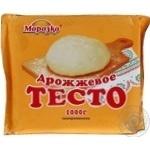 Тесто Морозко дрожжевое замороженное 1кг Россия