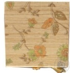 Скринька бамбукова Handy Home Квіти 4 секції AS-35C