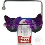 Держатель для туалетного папіру Happy House метелик W2564