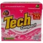 Powdered laundry detergent Tech Compact Romantic Floral automat 1000g