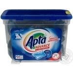 Средство для стирки Апта Эдванс в мешочках жидкое автомат 20х35г Монако