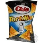 Corn chips Chio Tortillas Salted 125g Germany