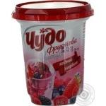 Десерт творожный Чудо Ягодный Щербет 3.6% пластиковый стакан 340г Украина
