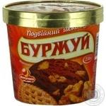 Морозиво подвійний шоколад Буржуй відерко 230г