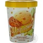 Мороженое Геркулес Шарлотка с бисквитом 500г ведро Украина