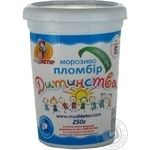 Морозиво Пломбір Дитинства Мушкетер пл.ст.250г