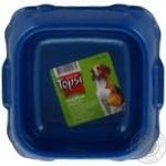 Миска для тварин Topsi пластмасова 4101 0,3л 12см