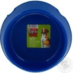 Миска для собак Topsi пластмасова 4102 0,5л 14см