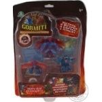 Горміті 3 серія блістер 4шт 3 фігурки+1 схована 4 карточки 1 постер Gormits GPH02061/UA