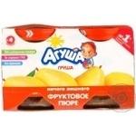 Puree Agusha pear for children 115g