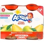 Puree Agusha pear for children from 5 months 200g