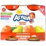 Puree Agusha peach for children from 5 months 200g