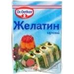 Желатин Др.Оеткер пищевой 10г