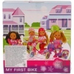 Игрушка Simba Toys Ева кукла на велосипеде - купить, цены на Novus - фото 2
