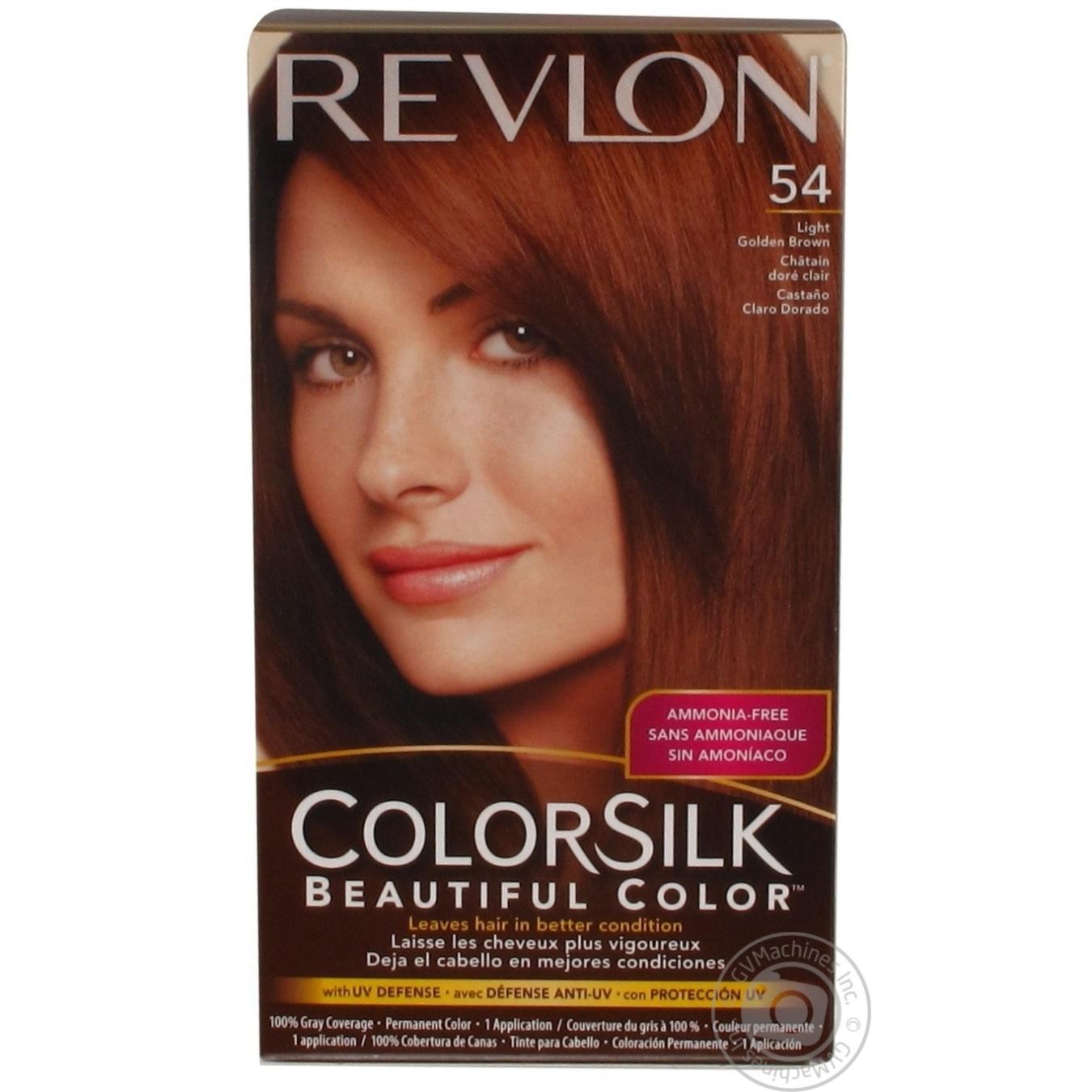 Color Revlon Color Silk Light Golden Chestnut Ammonia Free