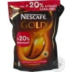 Natural instant sublimated coffee Nescafe Gold 276g Russia