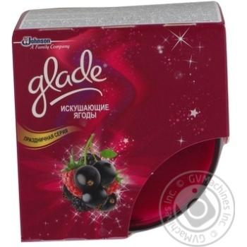 Свічка ароматизована Glade Спокусливі ягоди 1шт
