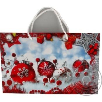 Gift Package 23х33х10cm in Assortment - buy, prices for Auchan - photo 4