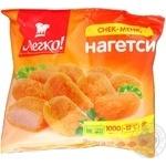 Нагетсы Легко! замороженные 1кг Украина