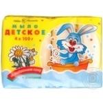 Nevskaya Cosmetica with chamomile baby soap 4pcs 100g