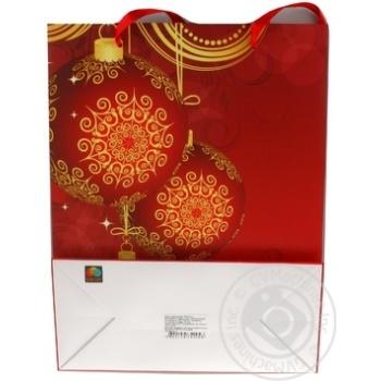 Пакет подарочный Timeopt Premium L 30x23x10.6см - купить, цены на Novus - фото 6