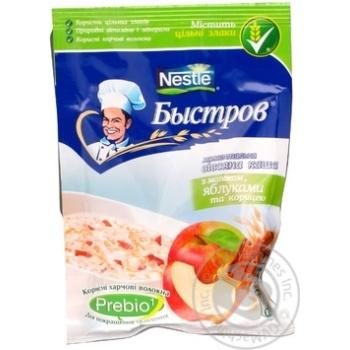 Каша Нестле Бистров вівсяна з молоком і яблуком 45г Польща